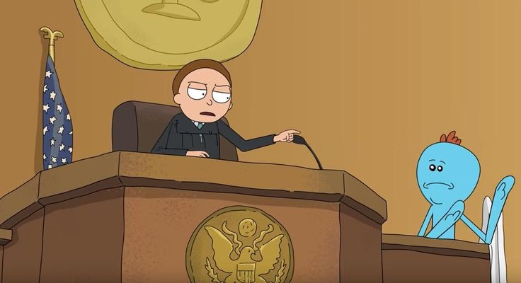 The Most Insane Vulgar Court Transcript In History Got The Full Animated 'Rick And Morty' Treatment