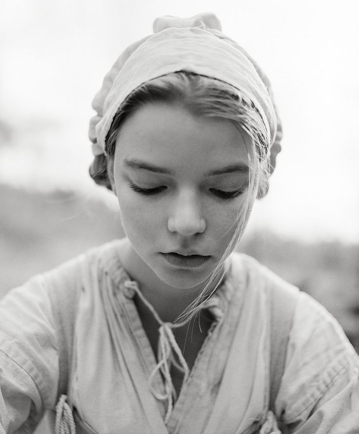 "https://flic.kr/p/uro4SM | Anya Taylor Joy as Thomasin, 2014 | During additional photography of ""The Witch"""