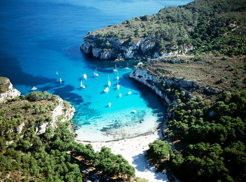 Cala Macarella, Minorca, Balearic Islands, Spain