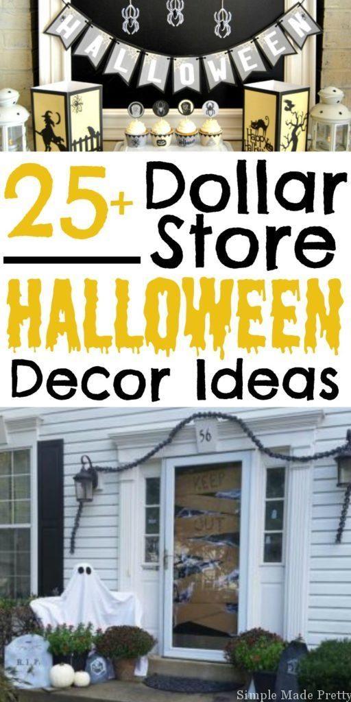 Best 25+ Dollar tree halloween ideas on Pinterest | Simple ...