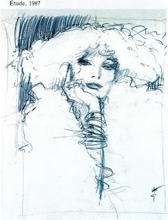 René Gruau est un dessinateur, affichiste et peintre connu dans le monde entier pour ses illustrations de mode et ses publicités restées dans la légende. Il représentera par ses dessins l'idée d'une élégance française. il travaille pour les plus grands noms de la Couture et du parfum.