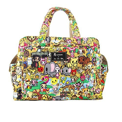 Ju-Ju-Be Be Prepared Diaper Bag - Tokidoki Animalini - Yellow 14 -Click image twice for more info- See a larger selection of green bags at http://kidsbackpackstore.com/product-category/green-bags/ - kids, women, men, bag, travel bag, gift ideas, backpack, carry on  luggage, green ,holidays, christmas