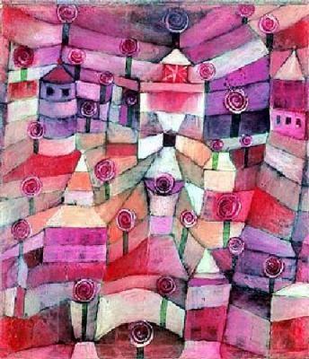 Paul Klee, Rose Garden  ♥ Inspirations, Idées & Suggestions, JesuisauJardin.fr, Atelier de paysage Paris, Stéphane Vimond Créateur de jardins ♥
