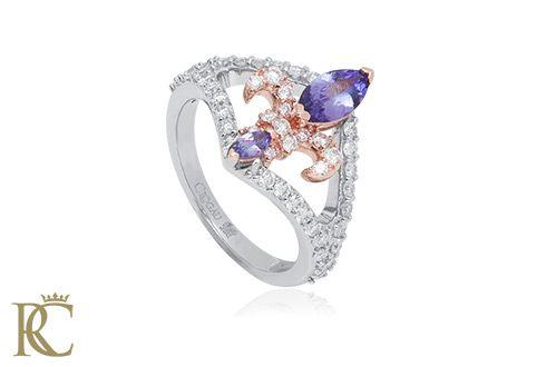 Tanzanite Royal Lily Ring