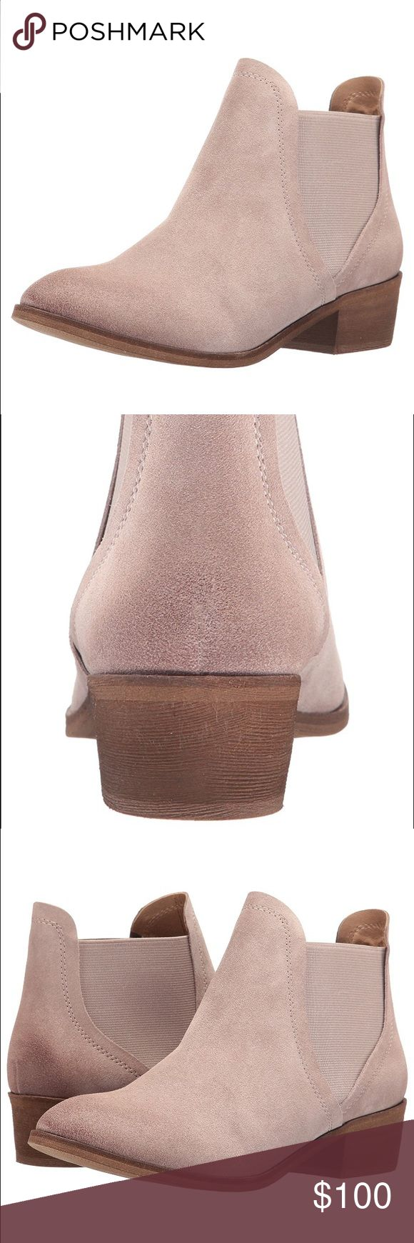 Splendid Booties Light nut / beige color beautiful suede booties by Splendid, new with tags! Splendid Shoes Ankle Boots & Booties