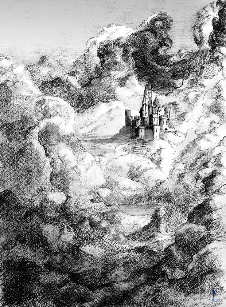 The sky castle by art-ori.deviantart.com on @DeviantArt