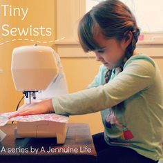 Tiny Sewists: Teaching Kids to Sew :: Lesson 6 | A Jennuine LifeA Jennuine Life...Revies first lessons.. Today we on lesson 6 begin to sew on two pieces of fabric together..a task of using pins...guest will show an easy way to begin creation seams with using pins!!!