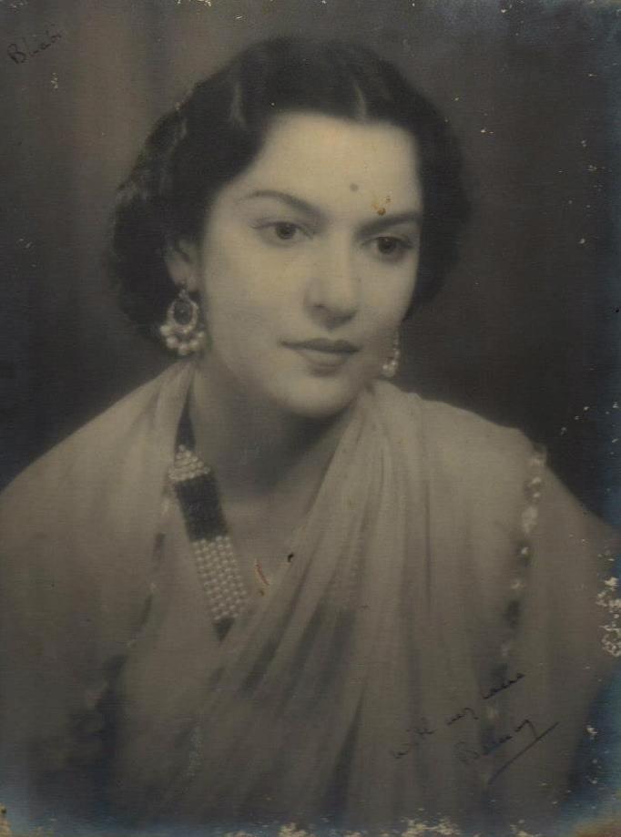 Maharani Menkaraje Puar of Dewas Jr.