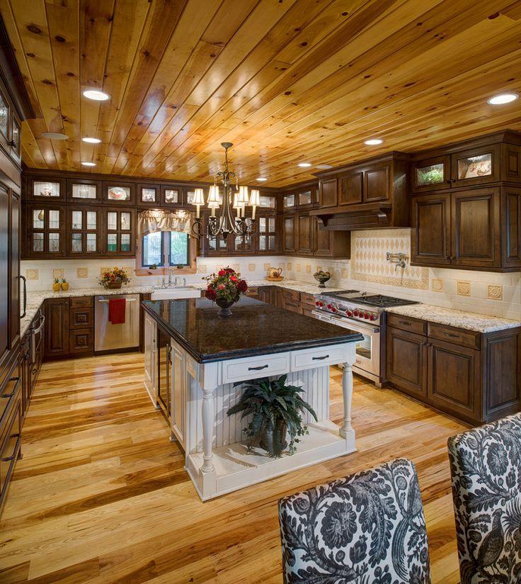 Dream Kitchen Rockland Maine: 17 Best Katahdin Log Home Kitchens Images On Pinterest