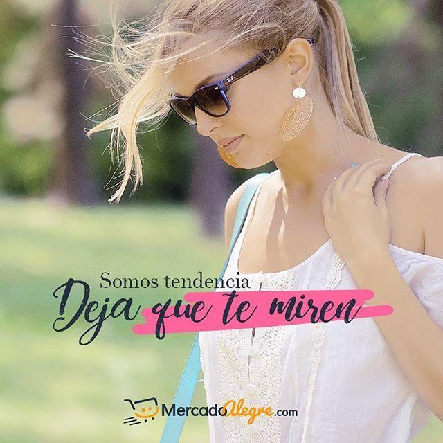 "#TuMercadoAlegre ""Somos tendencia, deja que te miren""  .  .  .  .  .  .  .  #Colombia #Compras #Medellin #Mercado #Bogota #Cali #followforfollow #Moda #Ropa #Ventas #Mercado #Alegre #Pereira #SantaMarta #Barranquilla #vistealamoda #free #Happy #cartagena"