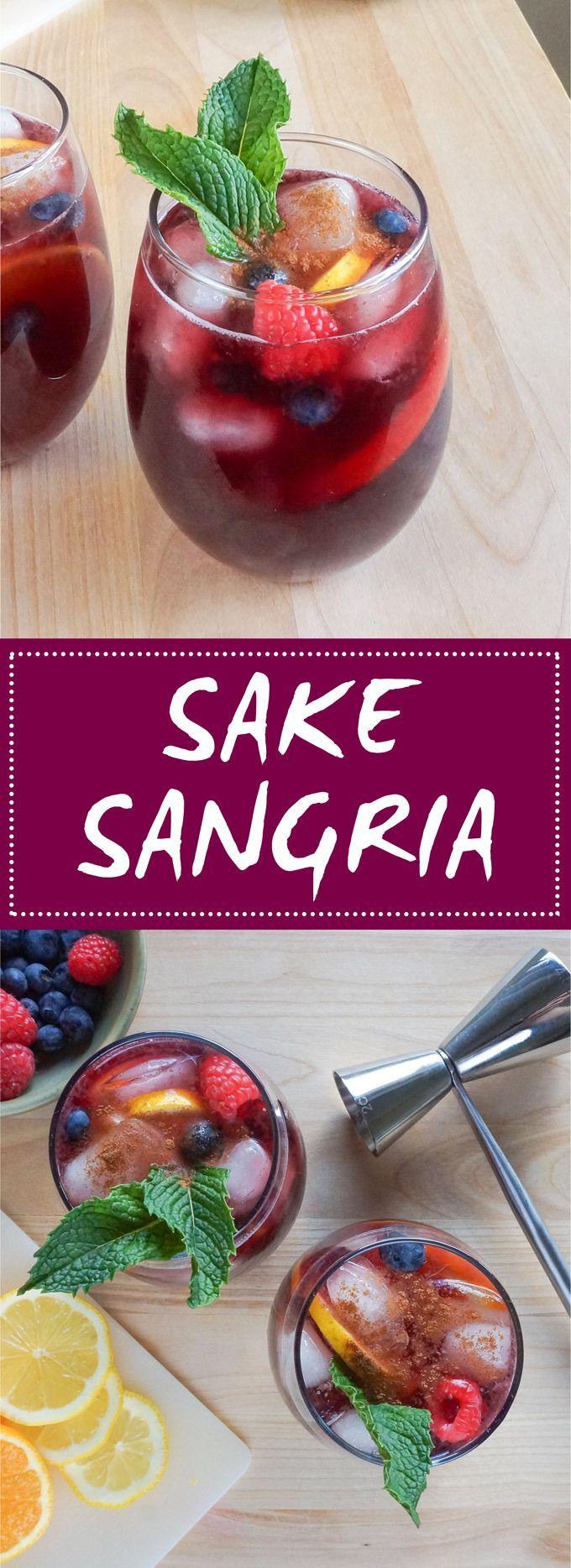 Patio Drinks: Sake Sangria
