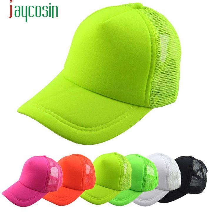 >> Click to Buy << Unisex Baseball Cap JAYCOSIN delicate drop ship 2017 Summer Solid Adult Mesh Women Men Sun Hat Hot Selling W12 #Affiliate