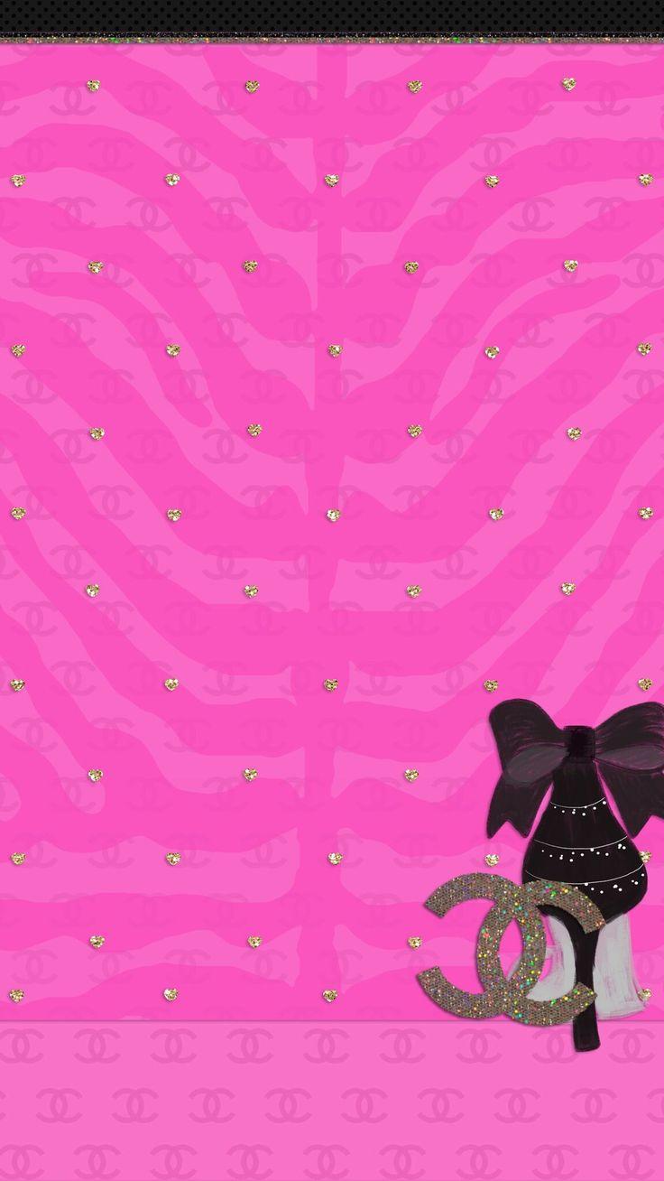 IPhone Wall Girls Night Tjn Chanel WallpapersCute WallpapersVintage WallpapersDesktop