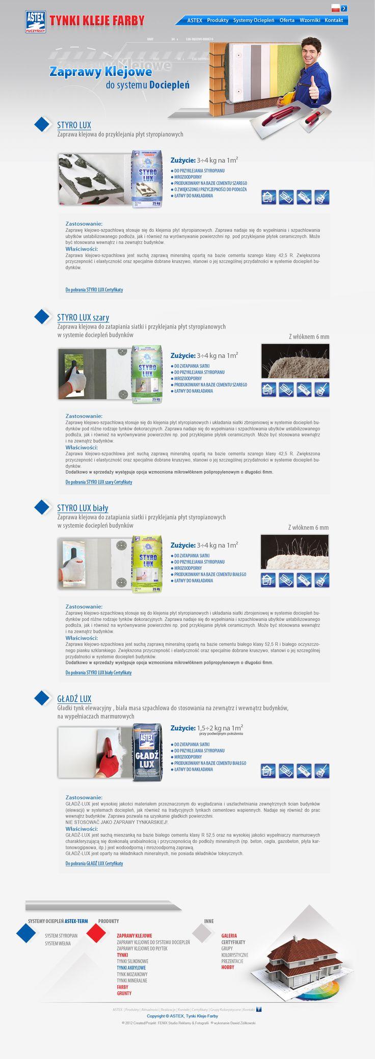 Zaprawy klejowe do systemów dociepleń Astex Puczyńscy. http://www.astex-tynki.pl/produkty/zaprawy-klejowe/do-systemu-ocieplen/