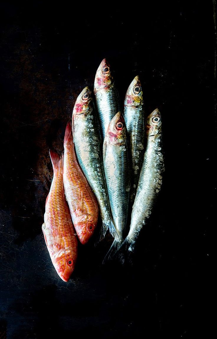 Sardines | Wild Greens and Sardines