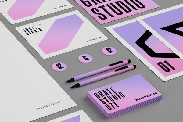 5 Best Neon Fluo Brand Identity Designs  
