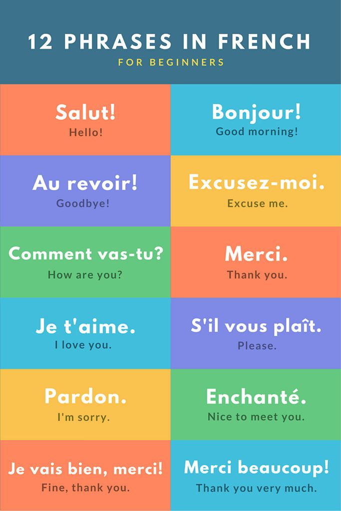Basic French Phrases for Travel                                                                                                                                                                                 More