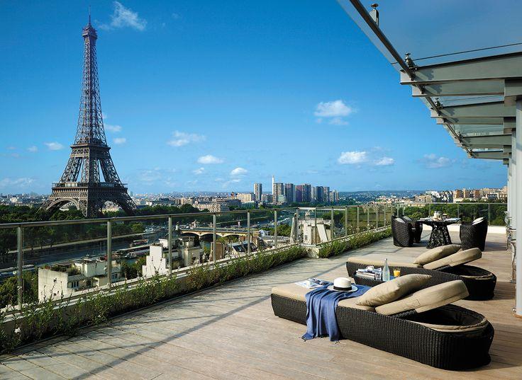 La Suite Shangri-La Terrace - MAJOR bucket list location!!!!! #paris #france
