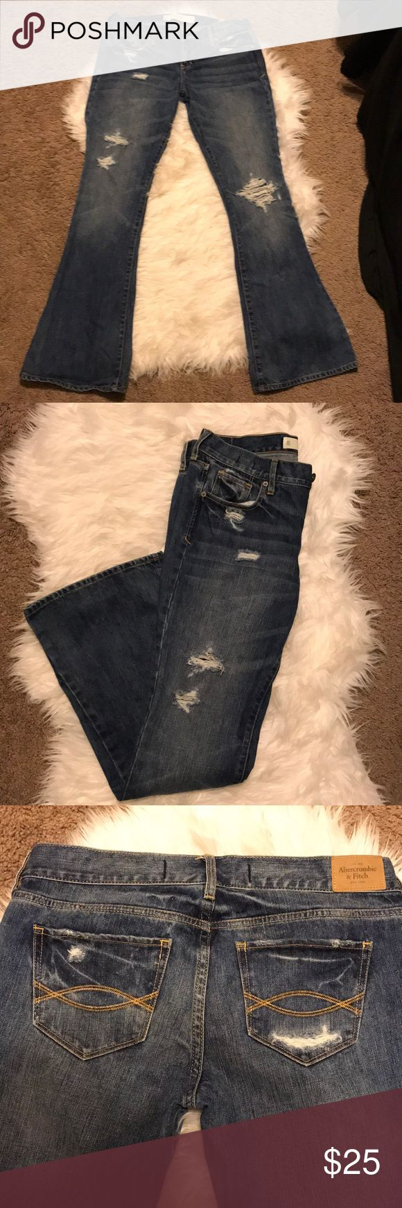 Abercrombie and Fitch Jeans Size 4S Abercrombie and Fitch boot cut pants. Worn once Abercrombie & Fitch Jeans Boot Cut