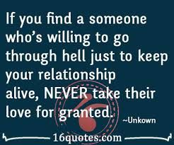 Image result for granted quotes love quotes