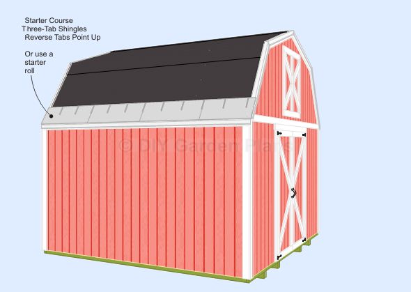 78 best images about shed plans on pinterest storage for How to shingle a shed