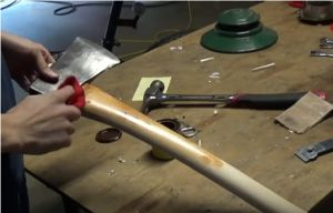 """How To Make Your Own Bushcraft Axe Homesteading  - The Homestead Survival .Com     """"Please Share This Pin"""""""
