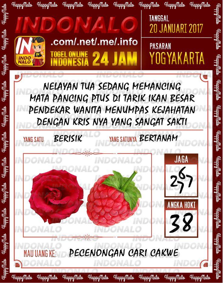 Nomer Hoki 4D Togel Wap Online Live Draw 4D Indonalo Yogyakarta 20 Januari 2017