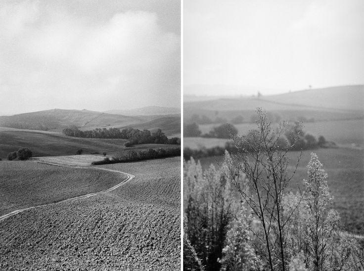 Pienza in Tuscany, Italy - FILM • ANALOG - © Lucrezia Cosso