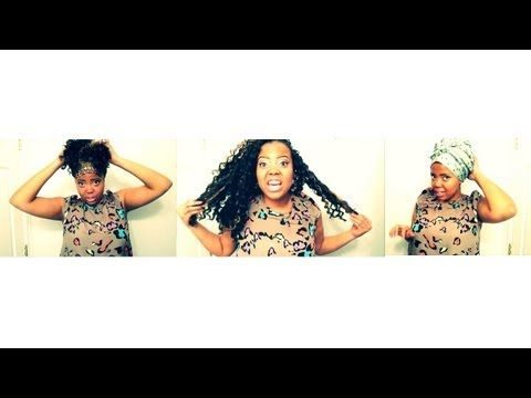 How To: Night Routine for Crochet Braids - YouTube