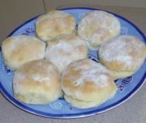 Lemonade and Cream Scones