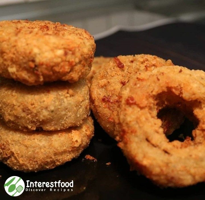 Mozarella Onion Rings Recipes Resep Resep Makanan Mozzarella Camilan