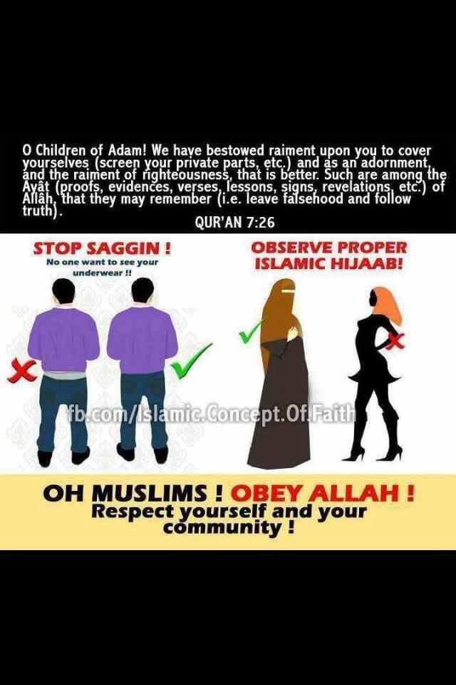 Correct hijab
