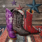 Take a look at the Pecos Bill & Tanner Mark Boots Kids event on #zulily today!