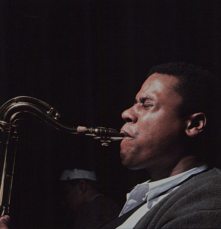 Wayne Shorter with Lee Morgan in the background during Shorter's Night Dreamer session, Englewood Cliffs NJ, April 29 1964 (photo by Francis Wolff) Morgan appeared on Art Blakey's Indestructible five...