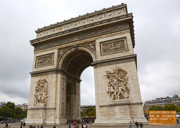 Amusing Arc De Triomphe Paris France Earthxplorer Adventure Travel with Arc De Triomphe In France | Goventures.org