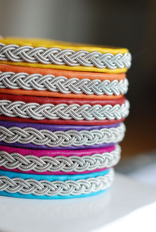 Gjersvold Design. Handmade pewter bracelets from sweden.