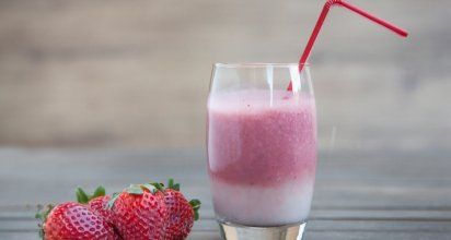 Acid reflux friendly recipe: Sweet vanilla smoothie