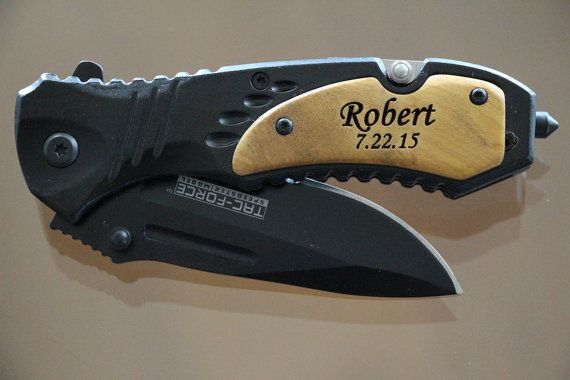 Best Father's Day Gift Engraved knife by EverythingDecorated
