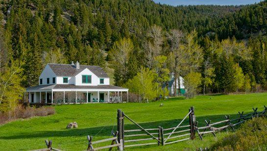 Crow hollow ranch raich montana properties llc yes a for Montana ranch house