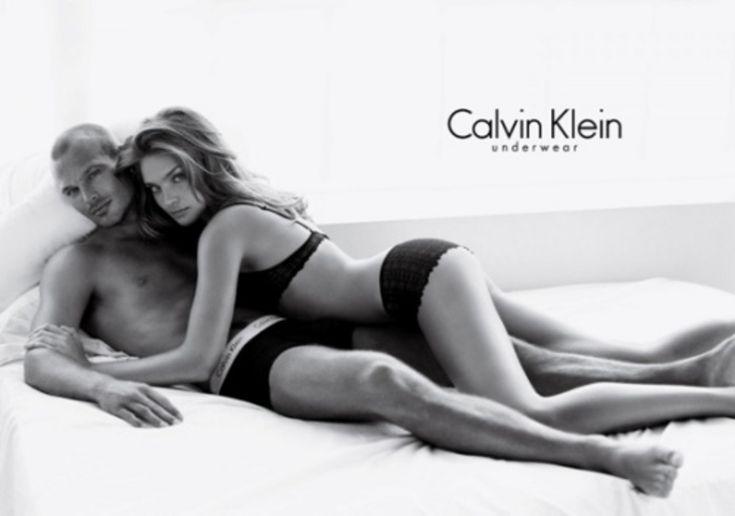 Calvin Klein - Natalia Vodianova,Fredrik Ljungberg - 2006SS - ad  campaign underwear -  fashion ads