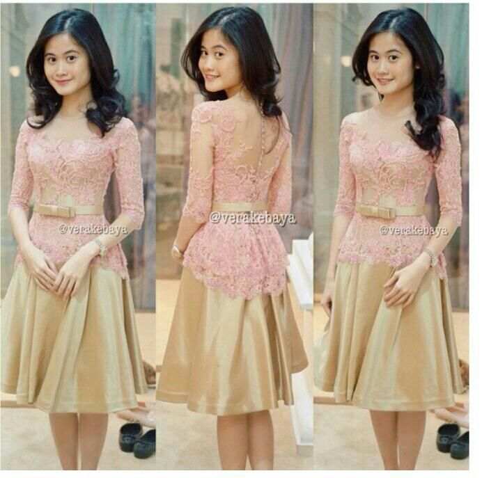 Indonesia National dress : KEBAYA by Vera Kebaya