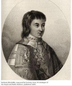Richard Woodville (or Wydeville), 1st Earl Rivers, KG (1405 – 12 August 1469)