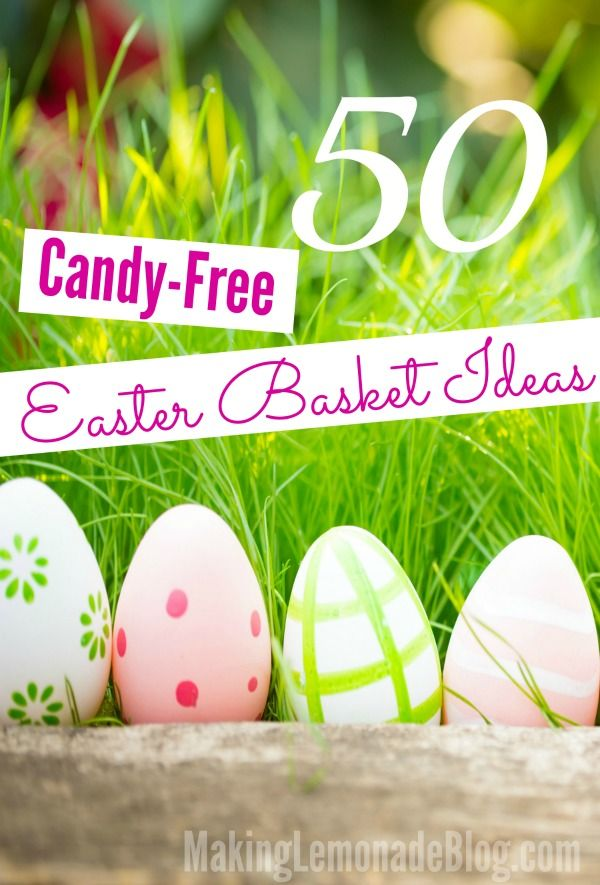 98 best making lemonade kids and family images on pinterest 50 candy free easter basket ideas for kids minus the sugar high via negle Choice Image