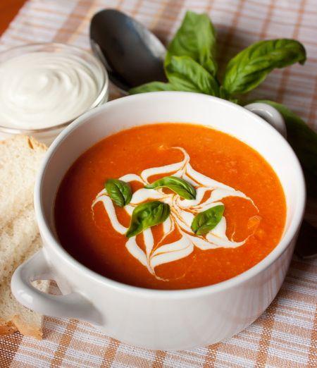 Самые вкусные рецепты: Томатный суп-пюре с нутом