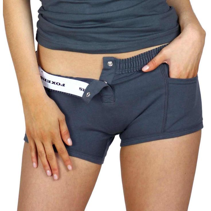 FOXERS Charcoal Grey Tomboy Boxer Brief Underwear | FOXERS