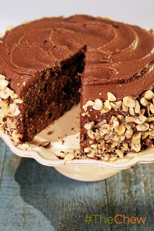We're going nuts for this Chocolate Hazelnut Cake!