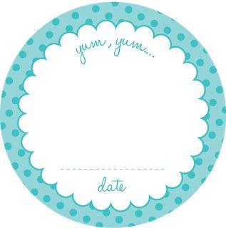 Free Printable Canning Jar Labels.  yup. ....polka dots and florals....