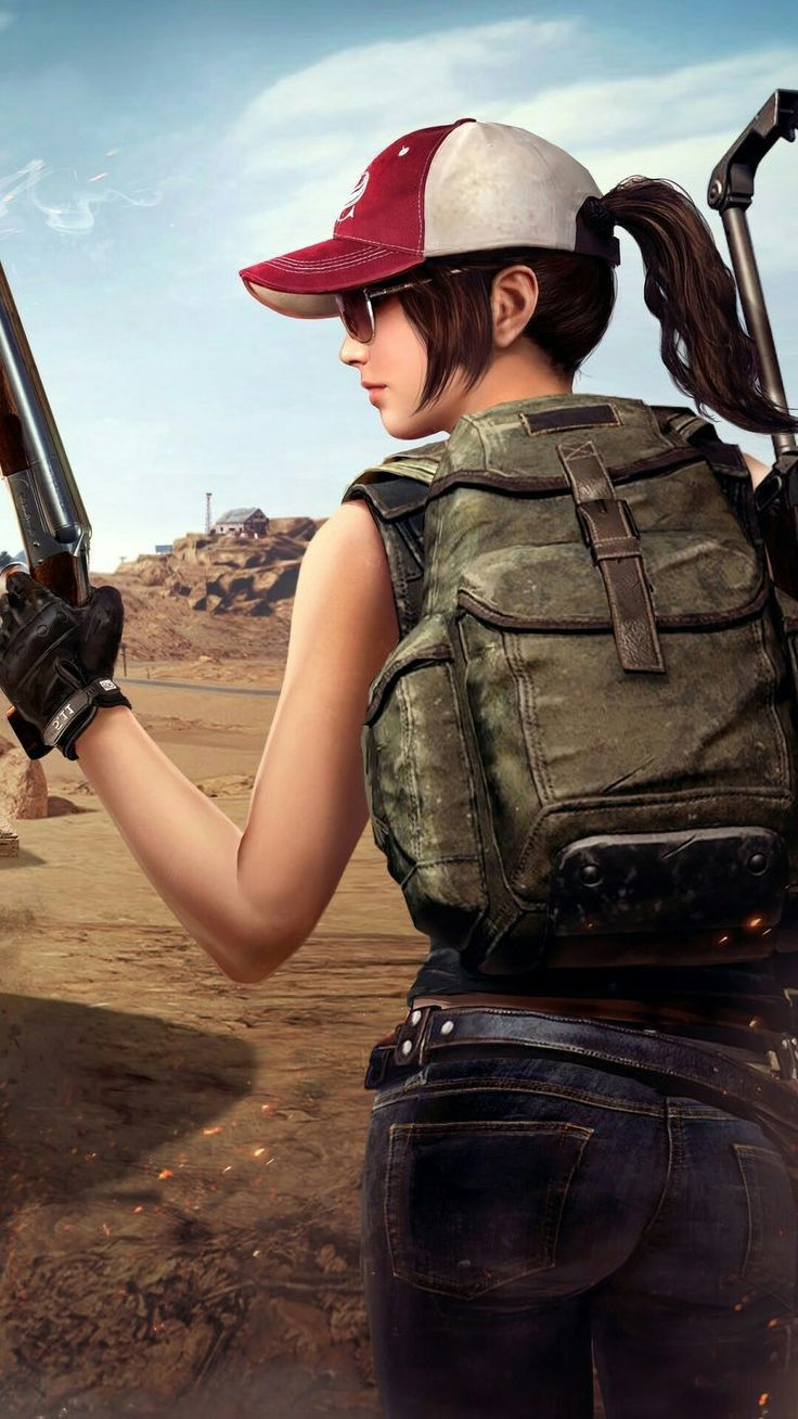 Pubg Girl Wallpaper Collection Player Unknown S Battle Ground Mobile Wallpaper Android Android Phone Backgrounds Mobile Wallpaper Lock screen 1080p hd full hd pubg