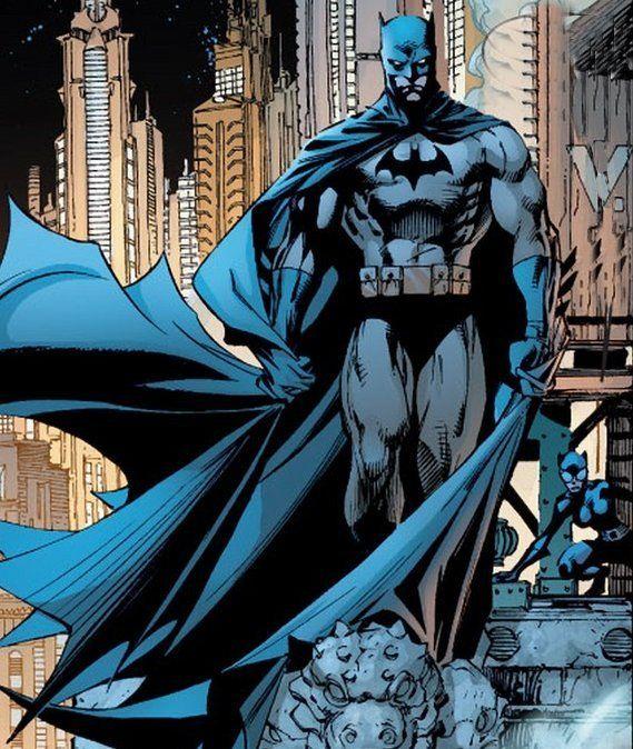 Jim Lee's Batman artwork