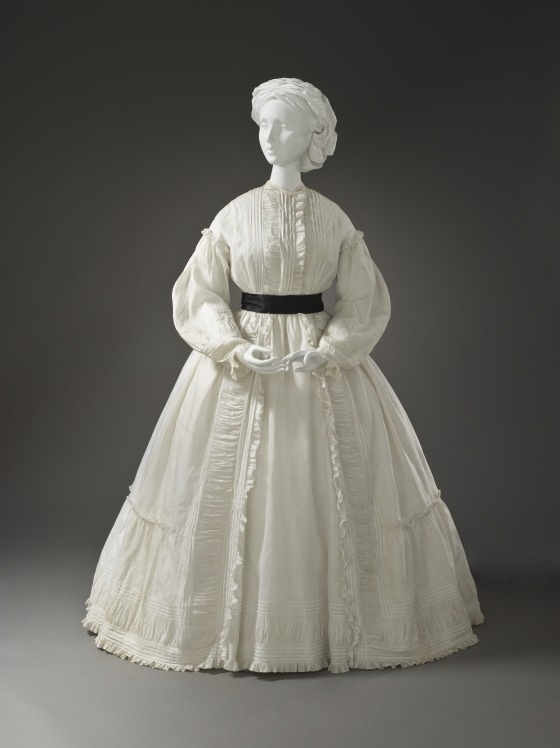 Woman's Morning Dress c. 1865 | LACMA Collections
